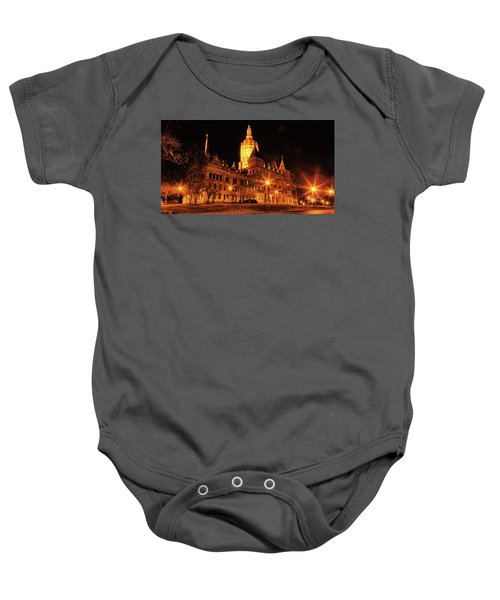 Connecticut State Capitol Baby Onesie
