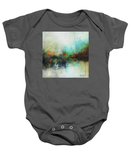 Contemporary Abstract Art Painting Baby Onesie