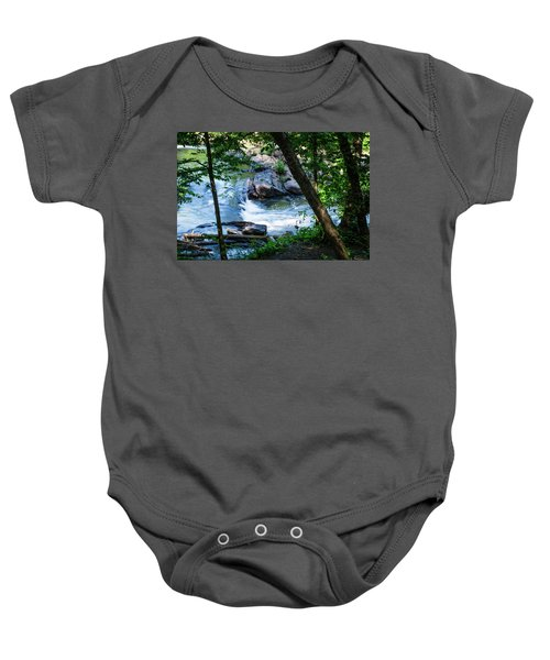 Cool Mountain Stream Baby Onesie