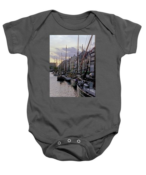Copenhagen Quay Baby Onesie