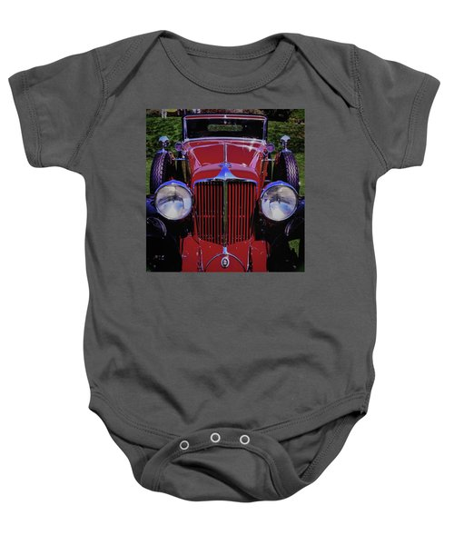 Cord Coupe Baby Onesie