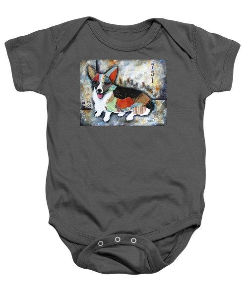 Corgi 2 Baby Onesie