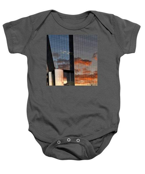 #corporative #architecture At Dusk Baby Onesie