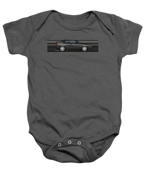 Corrado Black Stripes Baby Onesie