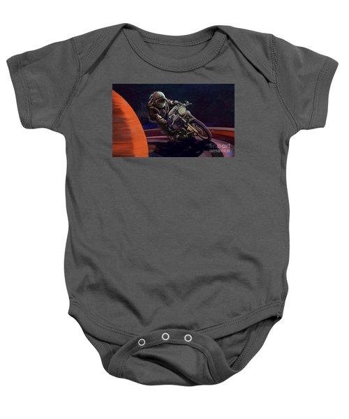 Cosmic Cafe Racer Baby Onesie