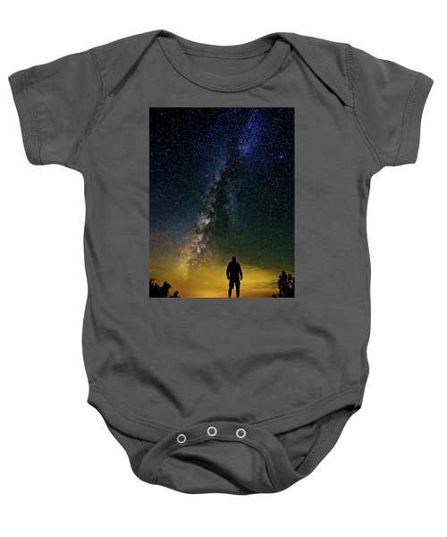 Cosmic Contemplation Baby Onesie