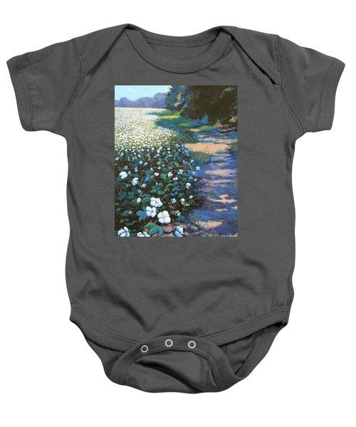 Cotton Field Baby Onesie