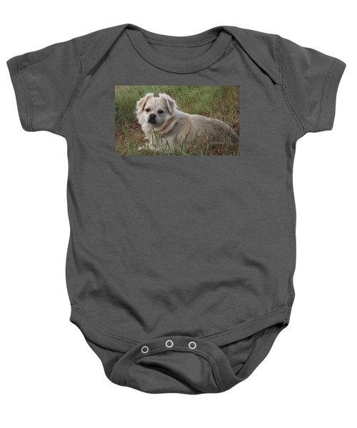 Cotton In The Grass Baby Onesie
