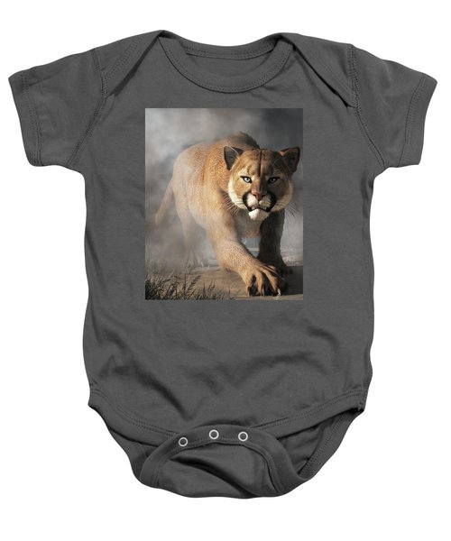 Cougar Is Gonna Get You Baby Onesie