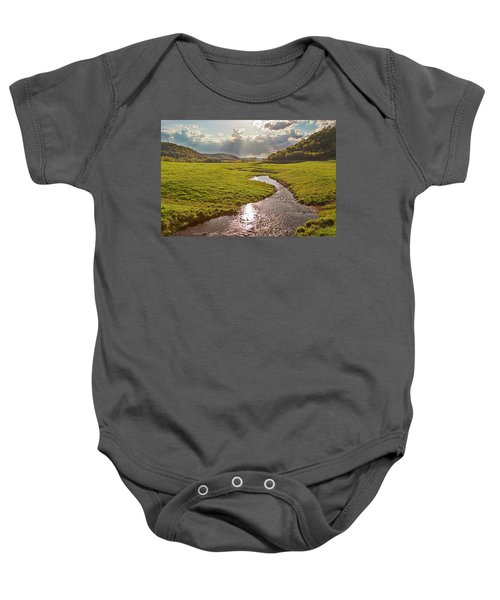 Coulee View Baby Onesie