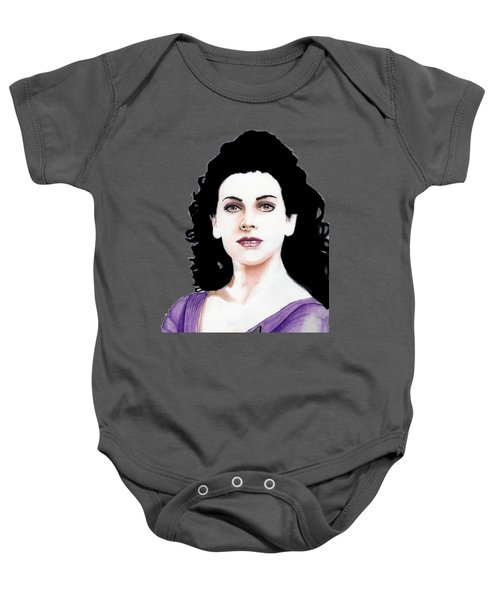 Counselor Deanna Troi Baby Onesie