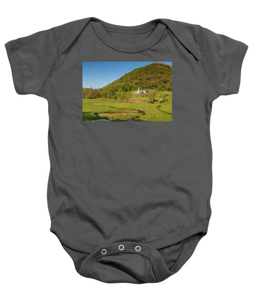 Country Church  Baby Onesie