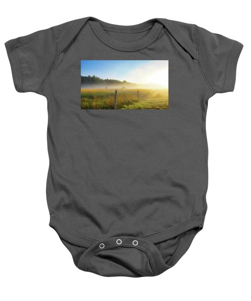 Country Fencerow Baby Onesie