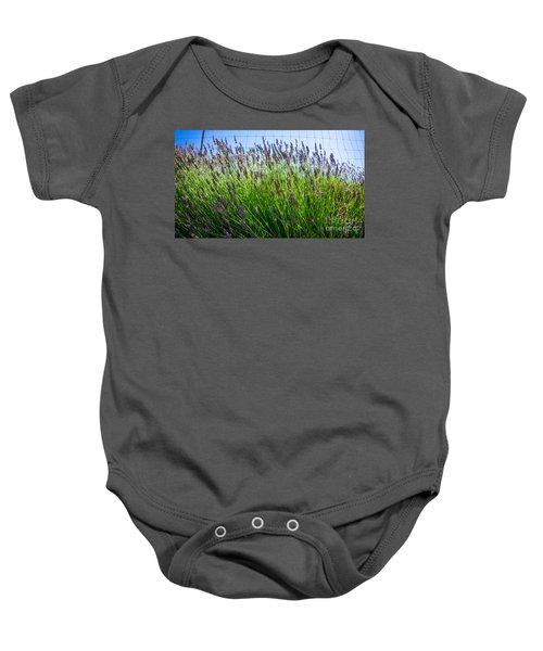 Country Lavender II Baby Onesie