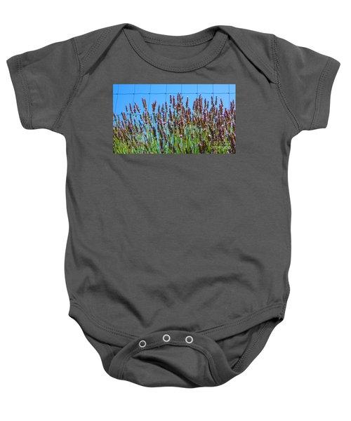 Country Lavender IIi Baby Onesie