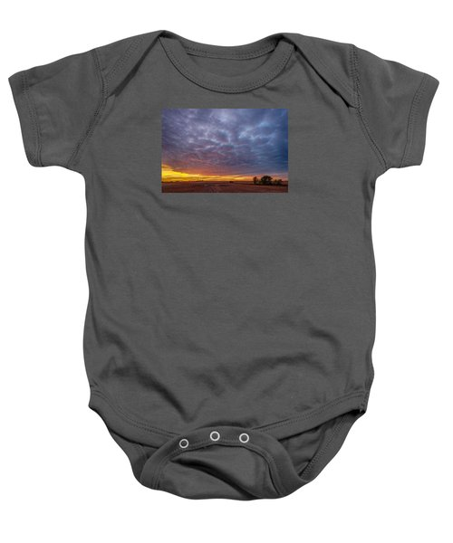 Baby Onesie featuring the photograph Country Living by Sebastian Musial