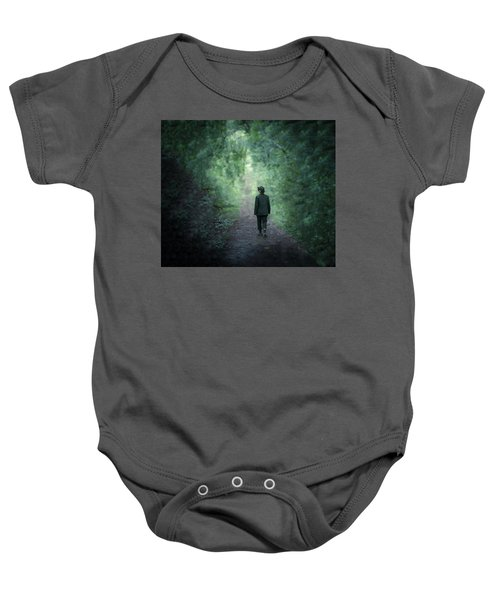 Country Path Baby Onesie