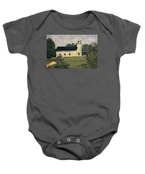 County Chruch Baby Onesie