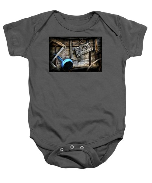 Covered Wagon Baby Onesie