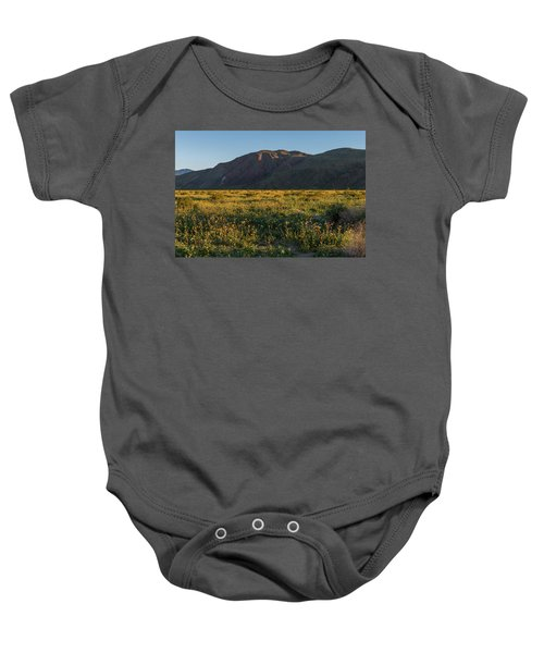 Coyote Mountain And Henderson Canyon Road Baby Onesie
