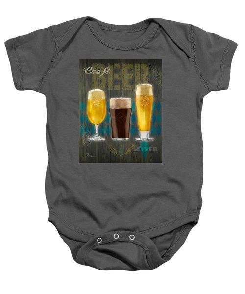 Craft Beer Baby Onesie