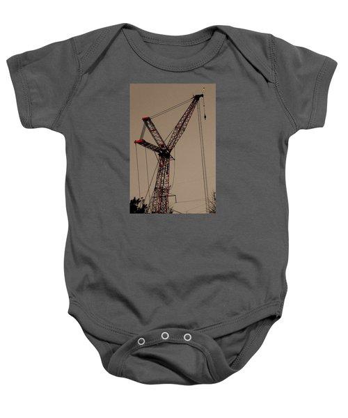 Crane's Up Baby Onesie