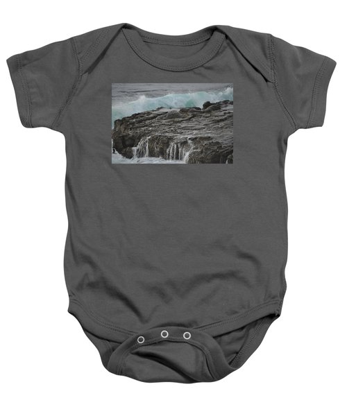 Crashing Wave Baby Onesie
