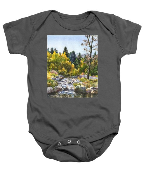 Creek At Caribou Ranch Baby Onesie