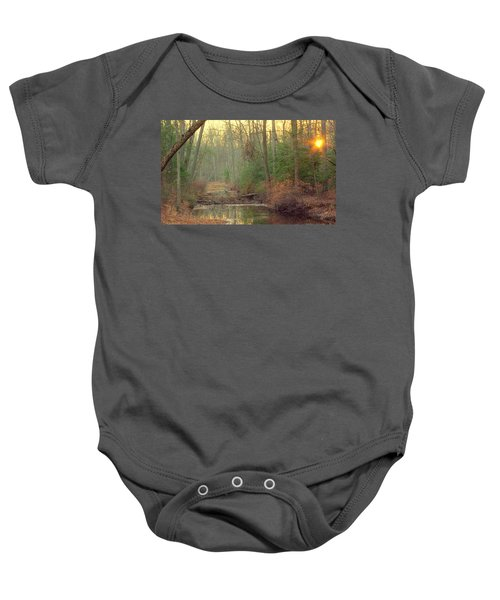 Creek Bed Baby Onesie