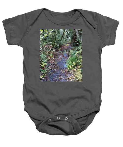 Creek On Mt Tamalpais 2 Baby Onesie