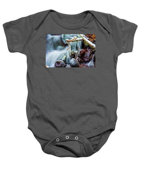 Creekside Icicles Baby Onesie