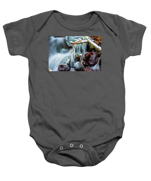 Creekside Icicles Baby Onesie