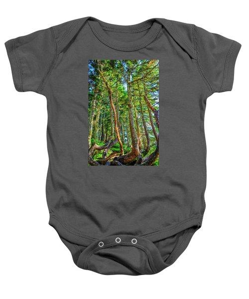Crooked Trees Of Mt Roberts Baby Onesie