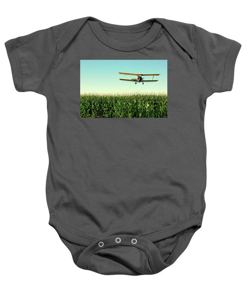 Crops Dusted Baby Onesie