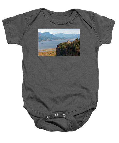Crown Point On Columbia River Gorge Baby Onesie