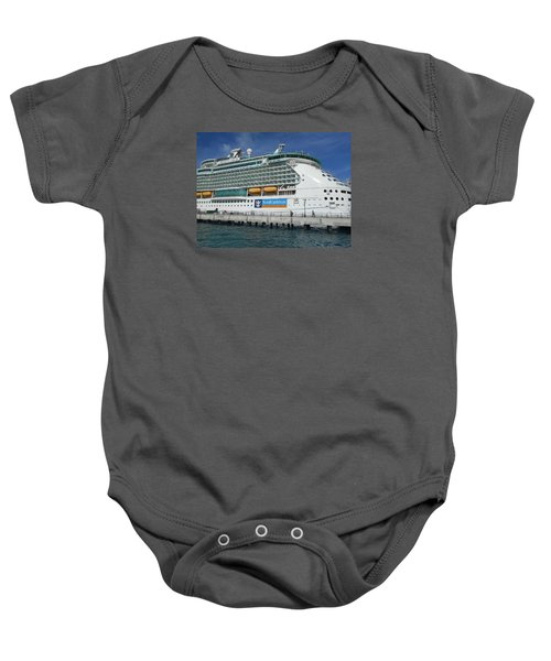 Cruise Ship Baby Onesie by Kathleen Peck