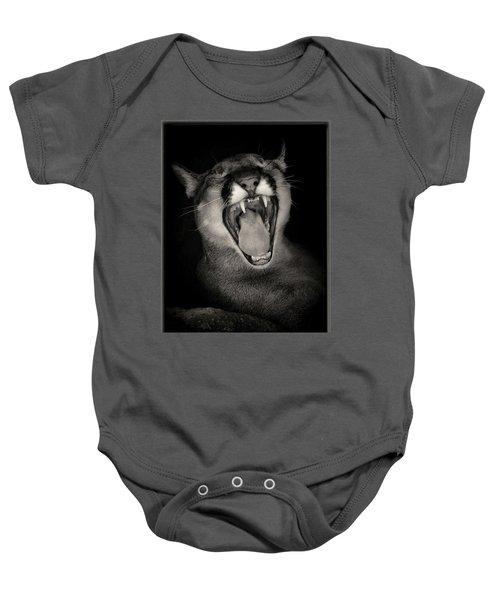 Cruz Yawning Baby Onesie