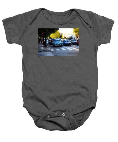 Cuba Street Scene Baby Onesie
