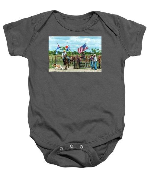 Cuban Cowboys Baby Onesie