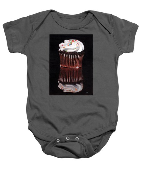 Cupcake Reflections Baby Onesie