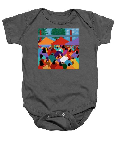 Curacao Market Baby Onesie