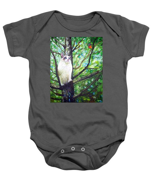 Curious Cat Baby Onesie
