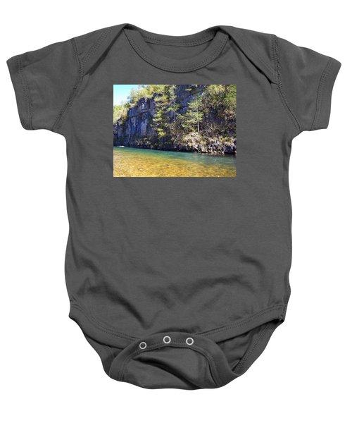 Current River 7 Baby Onesie