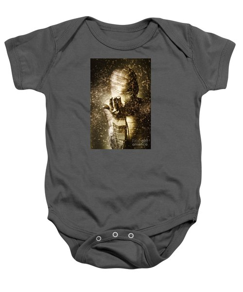 Curse Of The Mummy Baby Onesie by Jorgo Photography - Wall Art Gallery