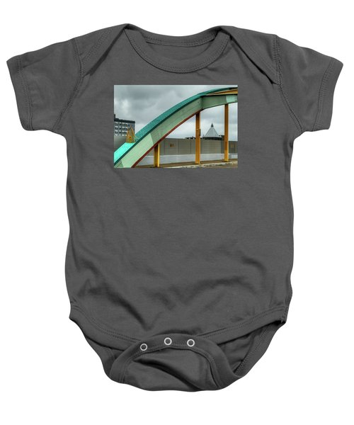 Curving Bridge Baby Onesie