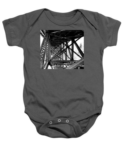 Cut River Bridge Baby Onesie