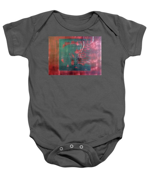 D U Rounds Project, Print 34 Baby Onesie