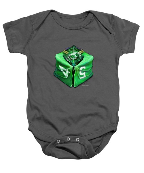 D6 Dragon Dice Baby Onesie