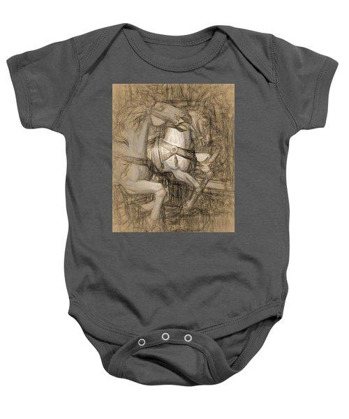 Da Vinci Carousel Baby Onesie