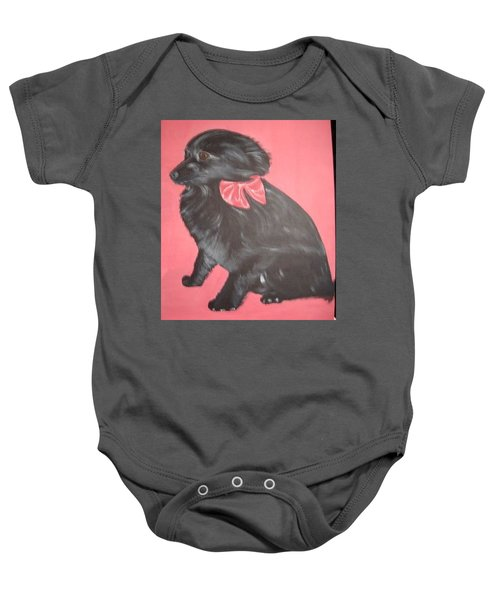 Daisy Scared Little Dog Baby Onesie
